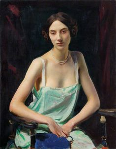 George Spencer Watson Woman in a camisole, 1932