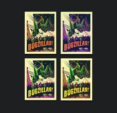 Bugzillas on Behance