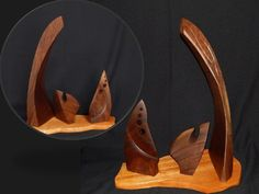 Black walnut and African Mohogany woods, cm, kilos Ronald Sullivan, Palette, African, Wood, Artist, Woodwind Instrument, Timber Wood, Artists, Pallets