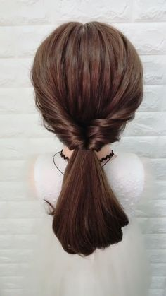 Braided Hairstyle for Long Hair easy hairstyles for long hair quick video tutori., Braided Hairstyle for Long Hair easy hairstyles for long hair quick video tutorial Cada vez mas mujeres nos animamos some sort of utilizar el. Easy Hairstyles For Long Hair, Braids For Long Hair, Work Hairstyles, Braided Hairstyles Tutorials, Braid Hairstyles, Wedding Hairstyles, Medium Hair Styles, Curly Hair Styles, Hair Upstyles