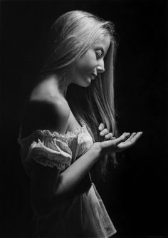 ARTIST: Emanuele Dascanio ~   (Charcoal and Graphite on Schoeller paper)