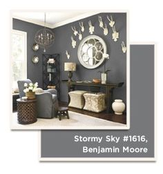 Ballard Designs Used Benjamin Moore 39 S Stormy Sky 1616 For This Wall Color Jim 39 S Master