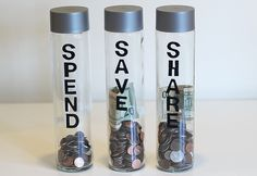 Teaching Kids About Money: DIY Spend, Save & Share Piggy Banks | eHow Mom | eHow