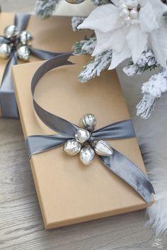Упаковка подарков своими руками #подарок #вдохновение