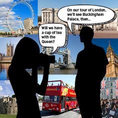 lesson plan for a tour in London #ESL #TEFL #ELT #EFL