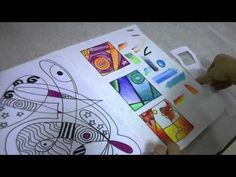 Informative video on a great project for learning how to blend with coloured pencils and use complementary colours