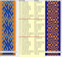 24 tarjetas, 3 / 2 colores, repite cada 16 movimientos // sed_645a diseñado en GTT༺❁