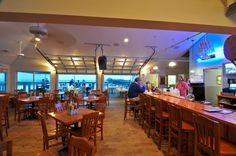 Pier Bar and Grill at the Prince Resort at the Cherry Grove Pier are fantastic North Myrtle Beach restaurants!