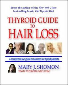 """The name of the book is """"Thyroid Guide To Hair Loss"""" written by Mary J. Shomon. The book offers a complete guide to the people who are suffering from Thyroid related problems and end up losing innumerable hair strands. The book says that millions of Americans have been diagnosed with thyroid and are suffering from acute Hair Loss problems."""