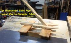 [Video] DIY Pallet Dismantler, Make Your Own Pallet Pryer. An Easiest Way! - Brilliant DIYBrilliant DIY