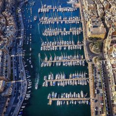 #View of the Grand Harbour Marina  Featured Photographer: @lifeofsabin  Tag your #photos with #MaltaPhotography to get a chance to be #featured on @maltaphotography - http://ift.tt/1T1gqWE  #drone #aerial #Birgu #yacht #boat #love #me #colours #island #jj #Malta #Marina #Photography #instagramhub #instafamous #photooftheday #picoftheday #lonelyplanet #travel #destination #worlderlust #beautifuldestinations
