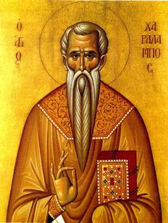 Full of Grace and Truth: St. Charalambos the Hieromartyr of Magnesia, and those with him