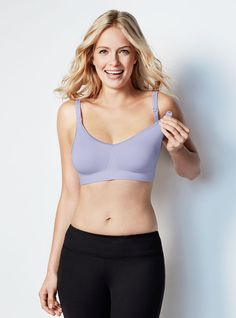 The Body Silk Seamless Nursing Bra From Bravado Designs, Famous For Fit, Comfort, Quality and Style. A mom and celebrity favorite.