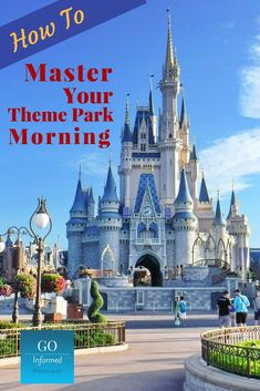 These pro tips will help you get your family ready for rope drop. Advice to make your morning at Disney World, Disneyland, or Universal so much easier! #disneyworld #disneytips #disneyland #universal #universalstudios #universalorlando #themepark
