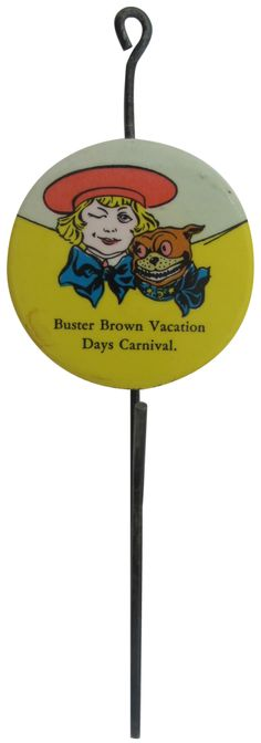 Buster Brown Hook   Busy Beaver Button Museum