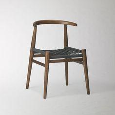 John Vogel Chair – Acorn/Charcoal | west elm $598 for pair
