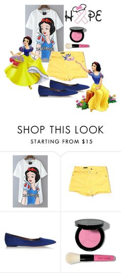 """""""Snow White//Don't like until you've read the d"""" by kailyn-corey ❤ liked on Polyvore featuring KUT from the Kloth, Disney, Tabitha Simmons, Bobbi Brown Cosmetics, women's clothing, women's fashion, women, female, woman and misses"""