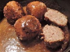 Healthy Slow Cooker, Healthy Crockpot Recipes, Meat Recipes, Low Carb Recipes, Oktoberfest Food, How To Cook Meatballs, Dutch Recipes, Food Plating, Arugula
