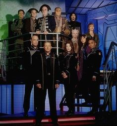Babylon 5 cast photo