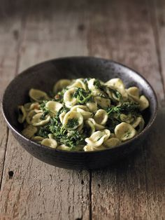 Orecchiette with Butter-Braised Nettles
