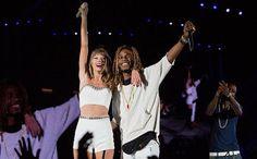 """Fetty Wap, """"Trap Queen"""" - All of Taylor Swift's BFFs on the '1989' tour - EW.com"""