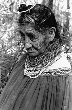 Seminole Indian Susie Billie- Big Cypress Seminole Indian Reservation