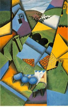 Name of Artist: Juan Gris Name/ date of work: Violin and Glass, 1915 (Cubism) (oil on canvas) The main features were to divide the subject into many perspectives different from just one view. Description from pinterest.com. I searched for this on bing.com/images