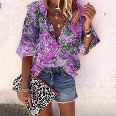 Types Of Sleeves, Half Sleeves, Shirt Bluse, 50 Fashion, Fashion Blouses, Latest Fashion, Sleeve Styles, Blouses For Women, Long Sleeve Shirts