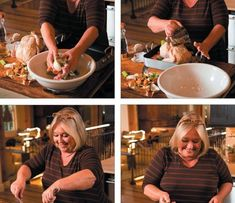 Nancy Fuller Recipes from Farmhouse Rules. Bbq Chicken Sandwich, Grilled Bbq Chicken, Crown Roast Of Pork, Nancy Fuller, Farmhouse Rules, Stovetop Mac And Cheese, Chili And Cornbread, Creamy Coleslaw, Homemade Hot Chocolate