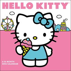 Hello Kitty Wall Calendar | $14.99 | Sweet and super cute, Hello Kitty continues to be a pop culture icon. She is one of the most unique and identifiable brands of our time, with fans of all ages and demographics. Spend the year with Hello Kitty with Hello Kitty Wall Calendar.