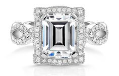 my dream ring =) Katharine James Bella's Love Engagement Ring - from Calvin's Fine Jewelry