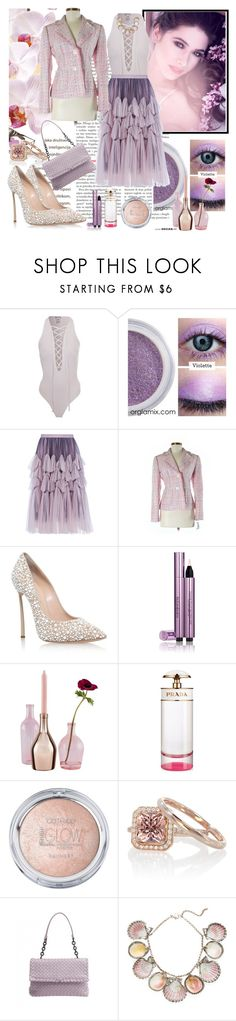 """Untitled #902"" by misaflowers ❤ liked on Polyvore featuring Dries Van Noten, Tribal, Casadei, Yves Saint Laurent, Incipit, Prada, Bottega Veneta and Paolo Costagli"