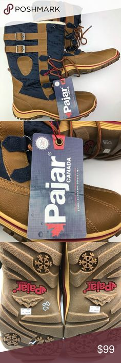 NEW PAJAR Canada Winter Snow Boots Size 41 / 10