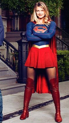 Supergirl about to take on her destiny!
