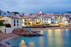 "Wonderful views of ""Costa Brava"". #TWGPCatalonia #Catalonia #Catalunya #CostaBrava #Costa #Playa #Beach #Mediterraneo #Barcos #Sea #Sailboats #Coast"