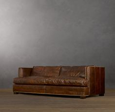 Easton Leather Sofas -- different lengths and depths