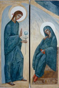 beautiful Annunciation - contemporary