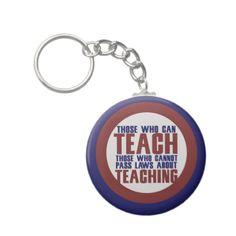 Those who can teach key chain