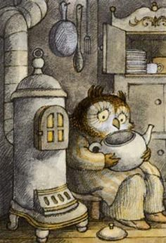 Owl's tear-water tea (from Owl at Home by Arnold Lobel)