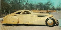 Rolls-Royce 1925 Phantom I chassis. It is actually the second body made by Jonckheere in 1934-1935