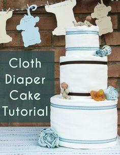 Diaper cakes are a p