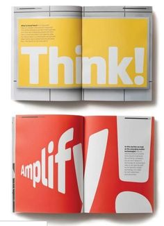 Quite provoking, quirky and eye-catching layout. Great use of solid colors and interesting typography, that also serves as a grid. Graphisches Design, Book Design, Cover Design, Print Design, Editorial Design, Editorial Layout, Layout Inspiration, Graphic Design Inspiration, Mise En Page Magazine