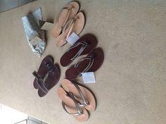 Callista crafts sandals to enjoy the summer Found them at Mykonos Nammos and Paros at Angels great shop!!!!