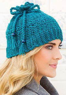 Azure Skies Hat Crochet World December 2014