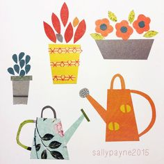Image result for garden tour illustrations pinterest