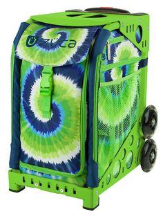 Zuca Sport Bag - SPLASH with Green Frame