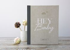 Hey Baby Record Book by Illustries