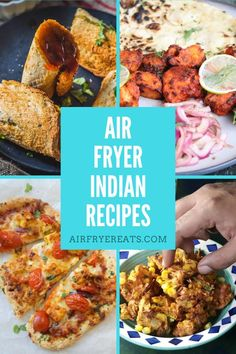 Air Fryer Indian Recipes are growing in popularity due to their immense flavors and the ease of making them. Here is a collection of the best air fryer Indian recipes out there! Air Fryer Recipes Indian, Air Fry Recipes, Indian Food Recipes, Healthy Recipes, Ethnic Recipes, Easy Indian Snacks, Indian Appetizers, Roasted Okra, Air Fried Food