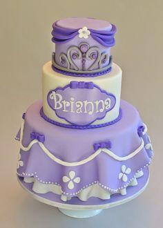 Princess Cake, Sofia the First Cake, Hope's Sweet Cakes