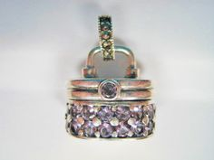 Sterling Amethyst Purse Prayer Compartment by BejeweledEmporium, $50.00
